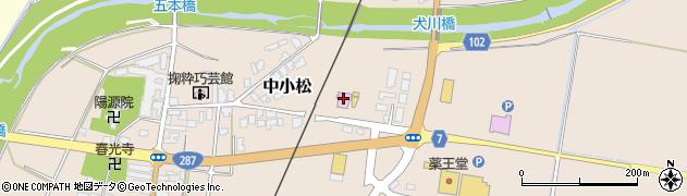 山形県東置賜郡川西町中小松2528周辺の地図