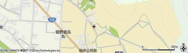 山形県東置賜郡高畠町根岸周辺の地図