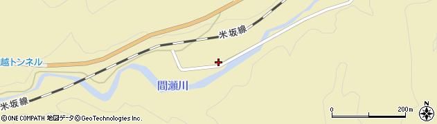 山形県西置賜郡小国町沼沢111周辺の地図
