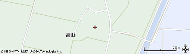 山形県東置賜郡川西町高山1553周辺の地図