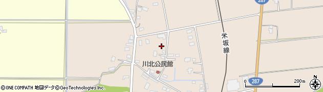 山形県東置賜郡川西町中小松3282周辺の地図