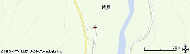 山形県西置賜郡小国町片貝246周辺の地図