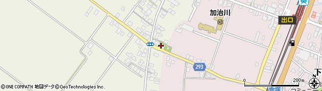 蓬林寺周辺の地図