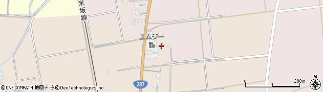 山形県東置賜郡川西町中小松2138周辺の地図