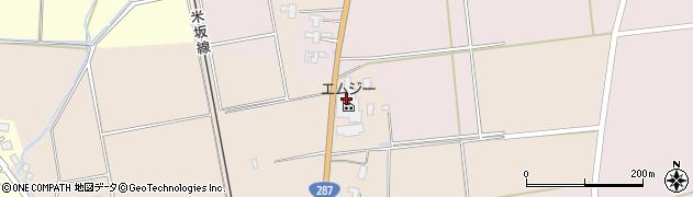 山形県東置賜郡川西町中小松2146周辺の地図