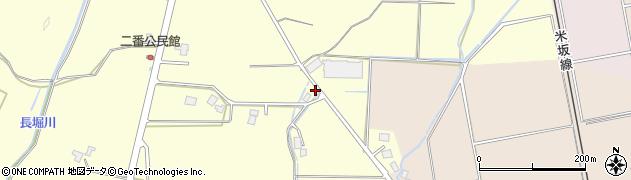 山形県東置賜郡川西町下小松10周辺の地図