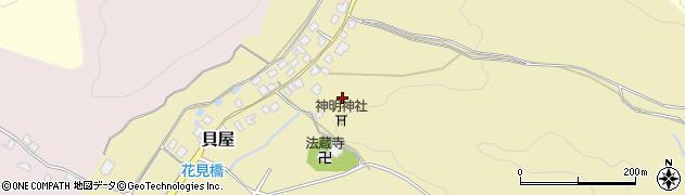 新潟県新発田市貝屋周辺の地図