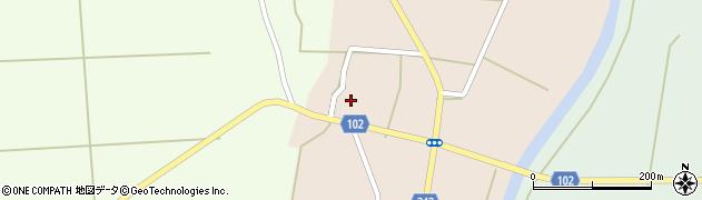 山形県東置賜郡川西町黒川1898周辺の地図