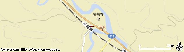 山形県西置賜郡小国町沼沢702周辺の地図