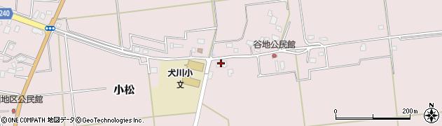 山形県東置賜郡川西町小松801周辺の地図