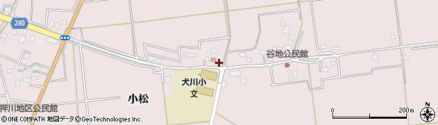 山形県東置賜郡川西町小松808周辺の地図