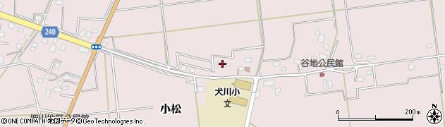 山形県東置賜郡川西町小松878周辺の地図
