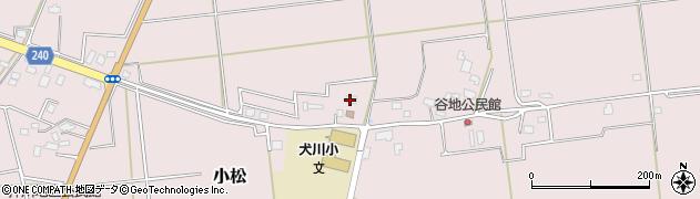 山形県東置賜郡川西町小松882周辺の地図