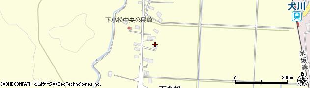 山形県東置賜郡川西町下小松686周辺の地図