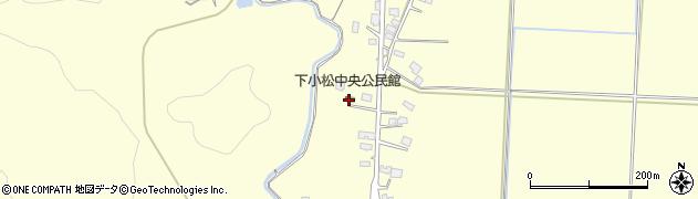 山形県東置賜郡川西町下小松647周辺の地図