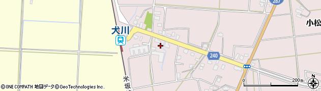 山形県東置賜郡川西町小松1836周辺の地図