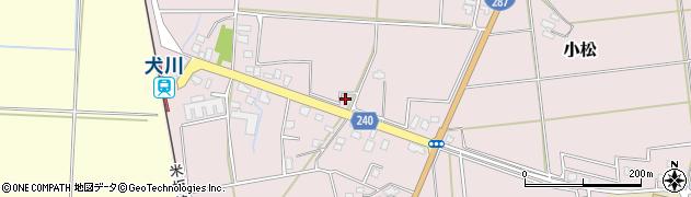 山形県東置賜郡川西町小松915周辺の地図
