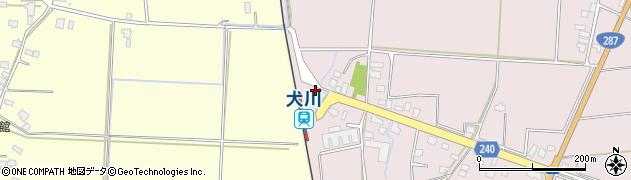 山形県東置賜郡川西町小松1695周辺の地図