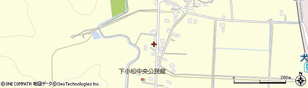 山形県東置賜郡川西町下小松856周辺の地図