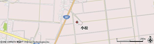 山形県東置賜郡川西町小松997周辺の地図