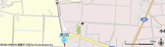 山形県東置賜郡川西町小松1677周辺の地図