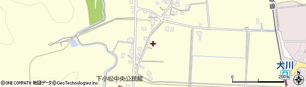 山形県東置賜郡川西町下小松977周辺の地図