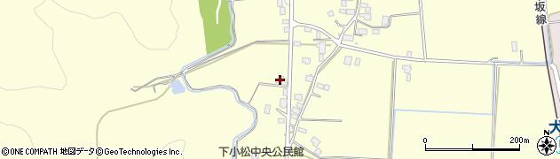 山形県東置賜郡川西町下小松845周辺の地図