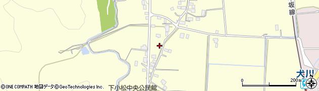 山形県東置賜郡川西町下小松851周辺の地図