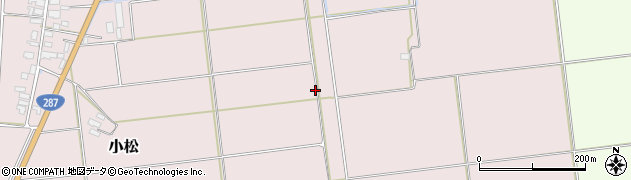 山形県東置賜郡川西町小松964周辺の地図