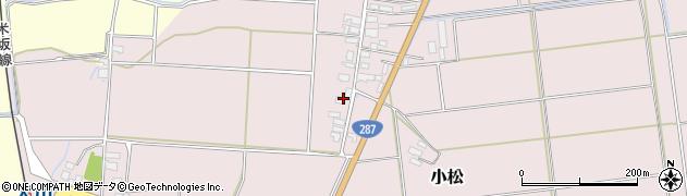 山形県東置賜郡川西町小松1638周辺の地図