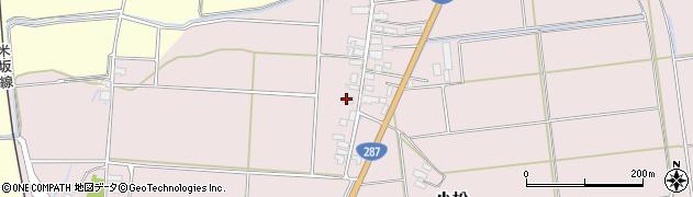 山形県東置賜郡川西町小松1641周辺の地図