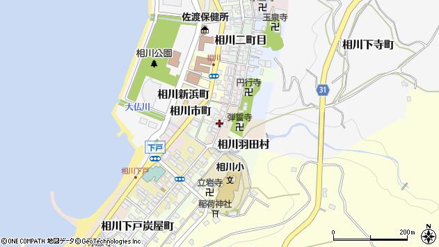 〒952-1564 新潟県佐渡市相川四町目の地図