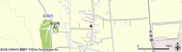 山形県東置賜郡川西町下小松948周辺の地図