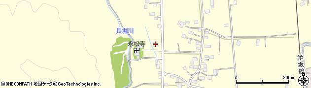 山形県東置賜郡川西町下小松924周辺の地図