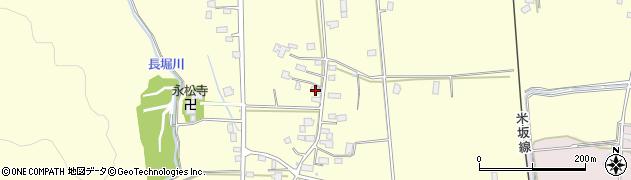 山形県東置賜郡川西町下小松949周辺の地図