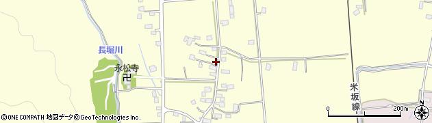 山形県東置賜郡川西町下小松950周辺の地図