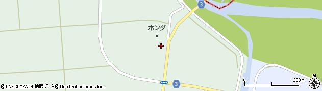 山形県東置賜郡川西町高山2417周辺の地図