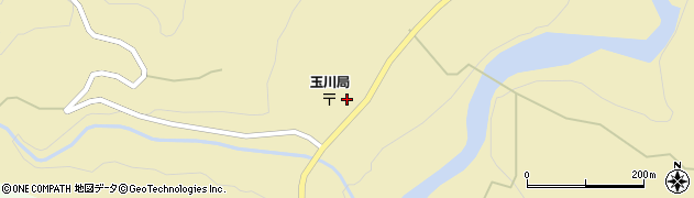 山形県西置賜郡小国町玉川36周辺の地図