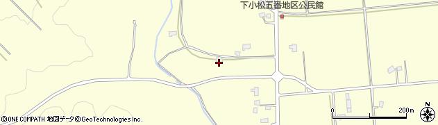山形県東置賜郡川西町下小松1372周辺の地図