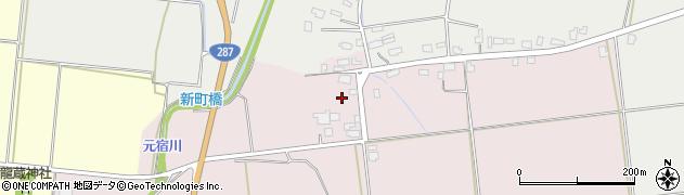 山形県東置賜郡川西町小松1218周辺の地図