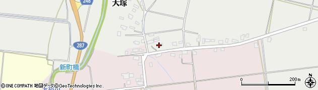 山形県東置賜郡川西町小松1296周辺の地図