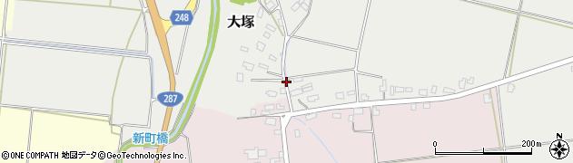 山形県東置賜郡川西町大塚2605周辺の地図