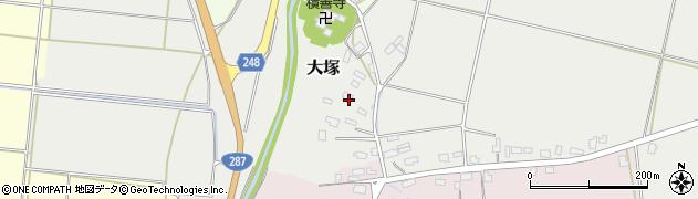 山形県東置賜郡川西町大塚2625周辺の地図