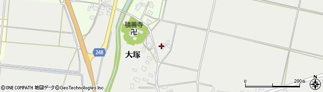 山形県東置賜郡川西町大塚2577周辺の地図