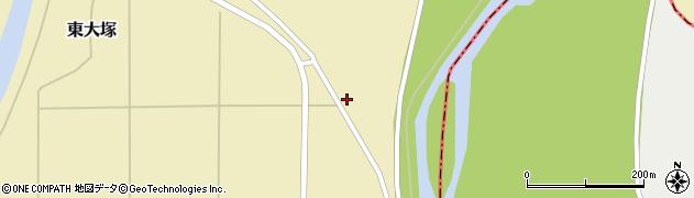 山形県東置賜郡川西町東大塚484周辺の地図