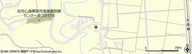 山形県東置賜郡川西町下小松2021周辺の地図