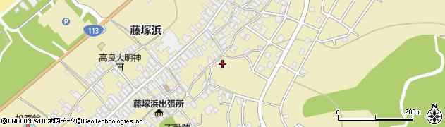新潟県新発田市藤塚浜周辺の地図