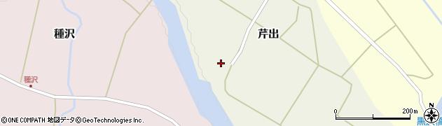 山形県西置賜郡小国町芹出18周辺の地図