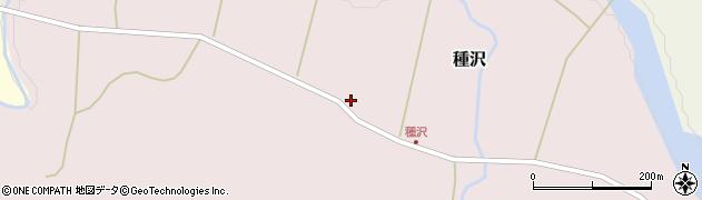 山形県西置賜郡小国町種沢552周辺の地図