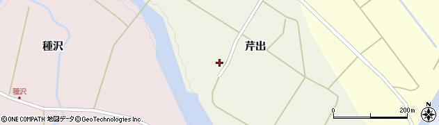 山形県西置賜郡小国町芹出17周辺の地図